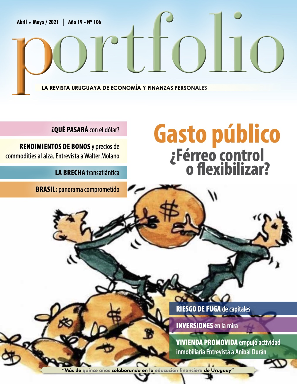 Revista 106 Abril-Mayo 2021